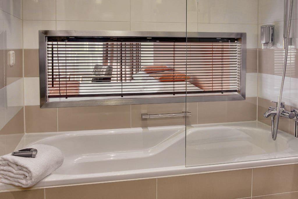 bild executive badezimmer neu ab 2011 zu austria trend hotel schillerpark linz in linz