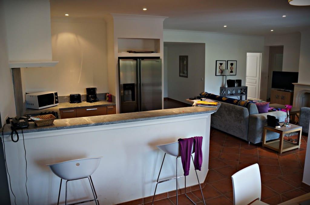 wohnzimmer küche zusammen:küche und wohnzimmer zusammen : Bild Blick vom Esszimmer auf Küche