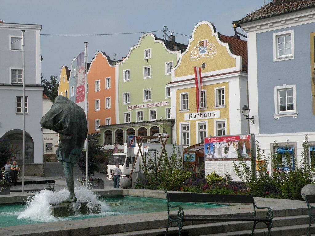 Hauptplatz Schärding Bilder Stadt/Ort Marktplatz