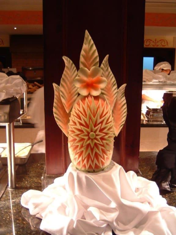 Bild dekoration essen zu grand bahia principe punta cana for Dekoration essen