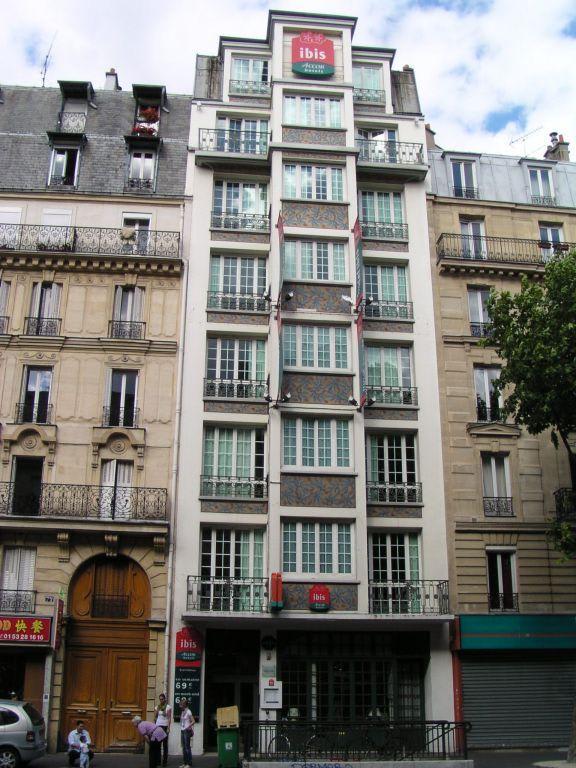 Hotel Ibis Ornano Montmartre