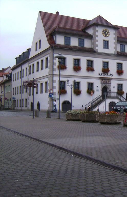 Rathaus am Markt Hoyerswerda Bilder Sonstige Gebäude Altstadt Hoyerswerda
