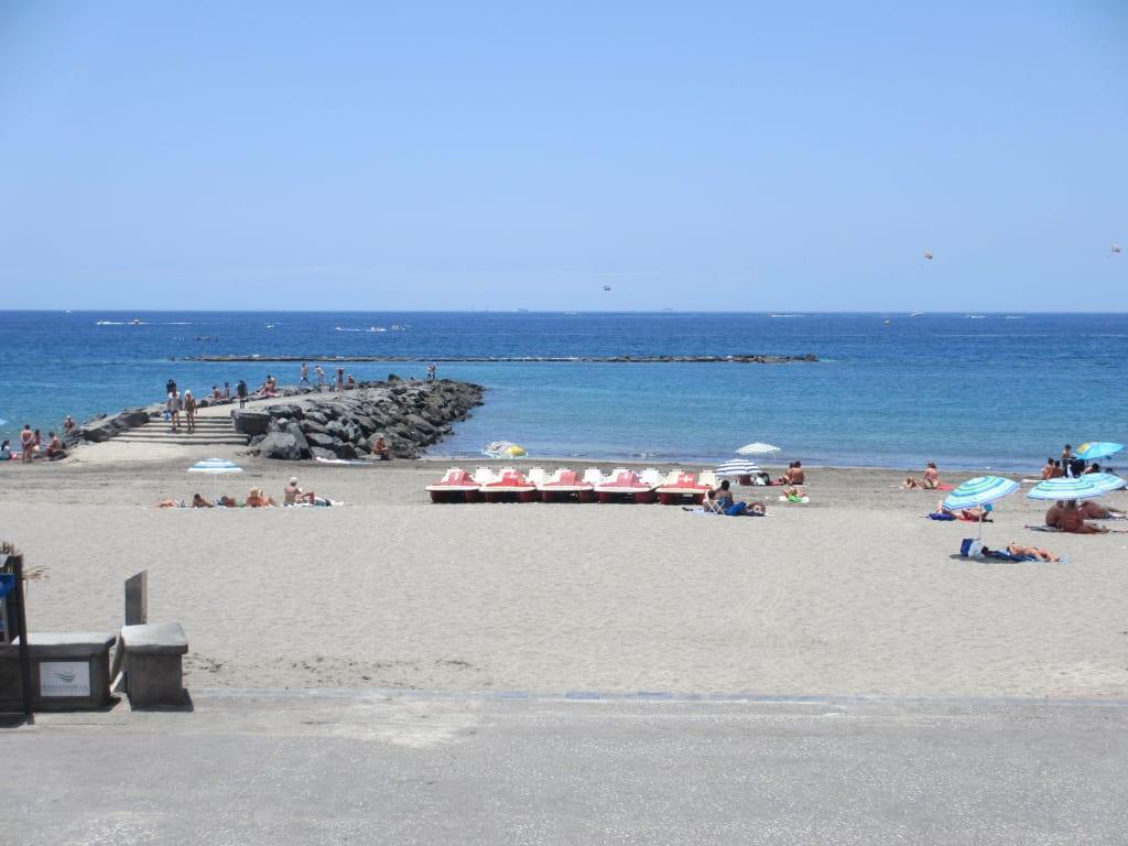 Bild sauberer toller strand zu adri n hoteles jardines for Jardine de nivaria