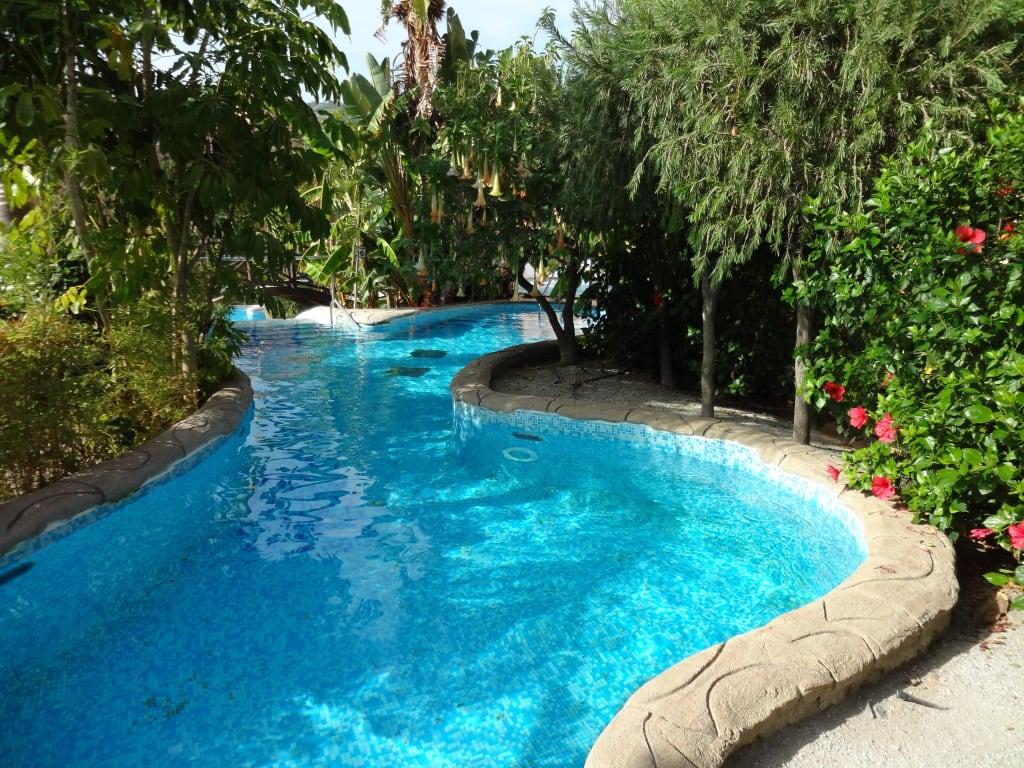 Bild flu landschaft zu playacalida spa hotel in almunecar for Hoteles en algeciras con piscina