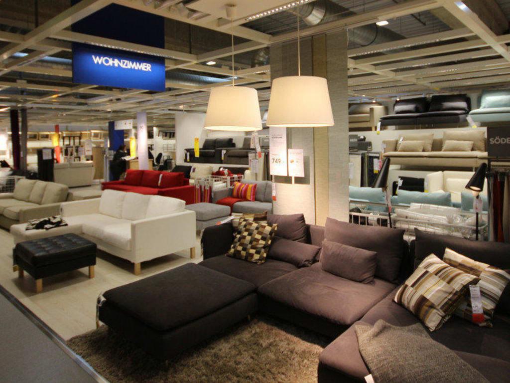"""Bild """"Verkaufsräume Wohnzimmer"""" zu IKEA Großburgwedel in Großburgwedel"""