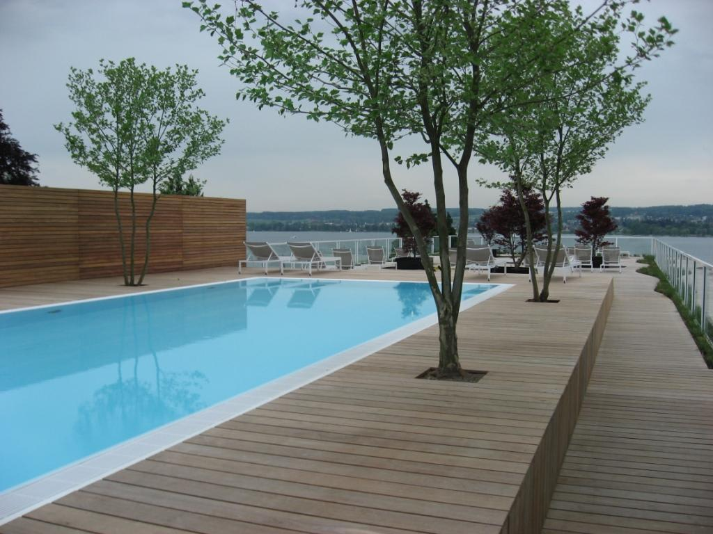 bild pool im riva konstanz zu riva das hotel am bodensee in konstanz. Black Bedroom Furniture Sets. Home Design Ideas