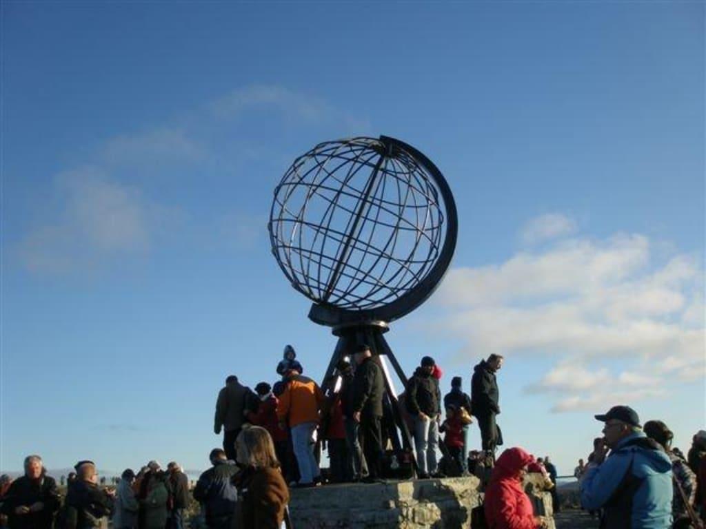 """Bild """"Weltkugel"""" zu Nordkap in Norwegen"""