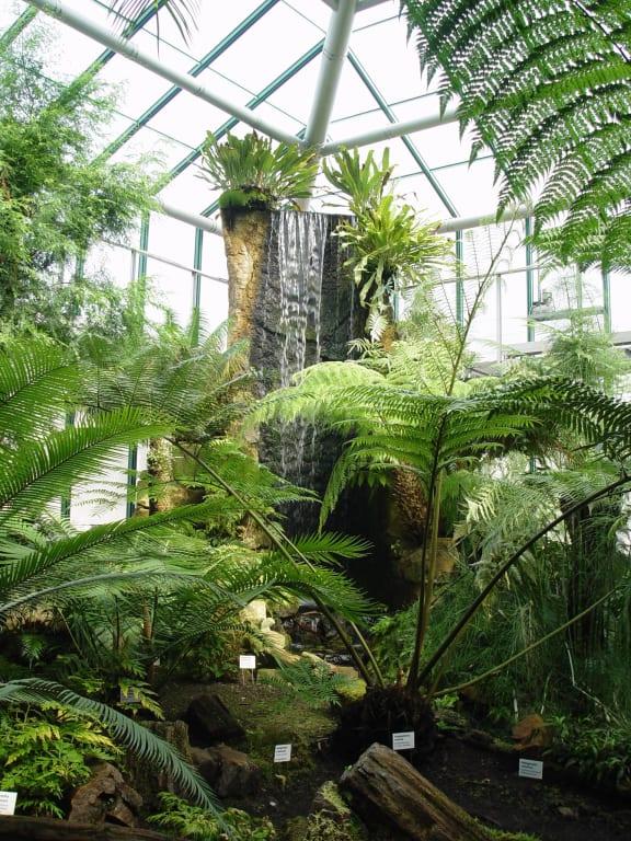 """Bild """"Wasserfall"""" Zu Botanischer Garten Liberec In Liberec"""