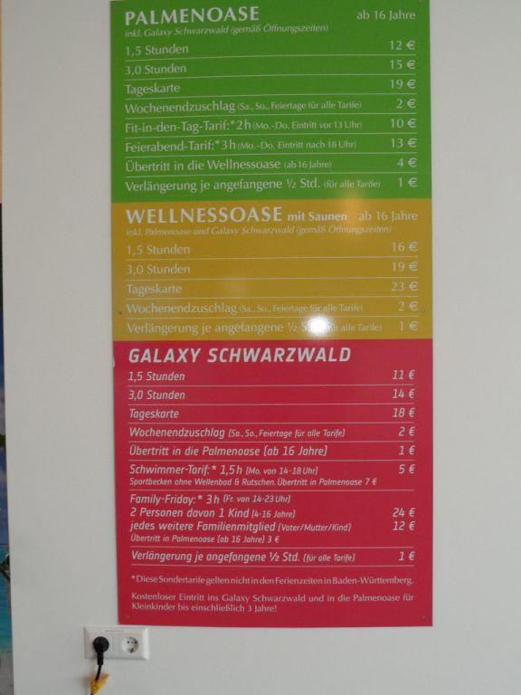 Bild Eintrittspreise Zu Badeparadies Schwarzwald In Titisee Neustadt