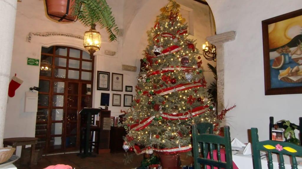Casa Weihnachtsdeko.Bild Weihnachtsdeko Zu Casa Marques De Montejo In Valladolid