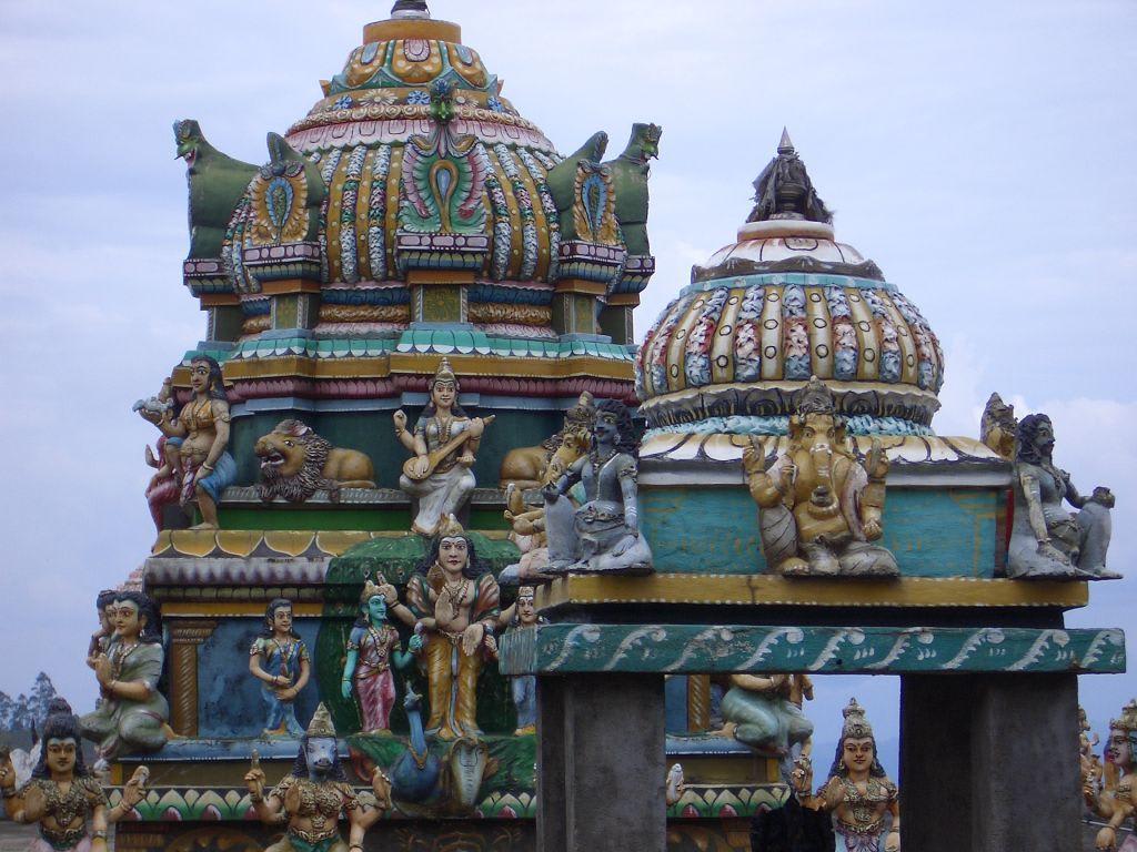 Bild Quot Hindu Tempel Quot Zu Hindu Tempel In Nuwara Eliya