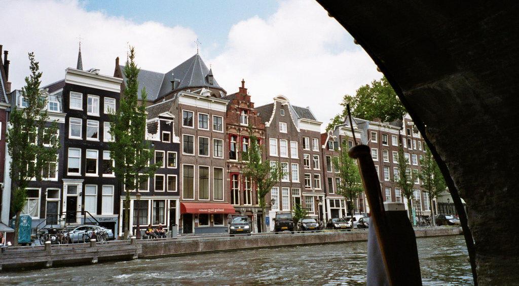 Bild Historischer Baustil Amsterdam Zu Zentrum Amsterdam