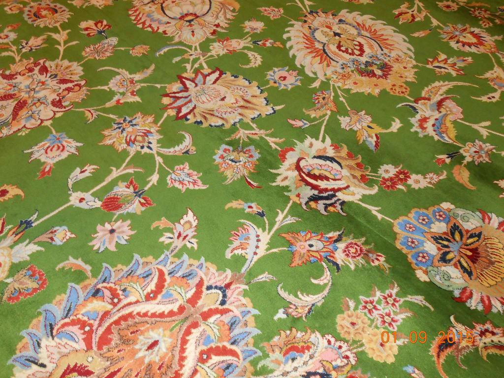 Bild Stück vom Teppich zu Scheich Zayed Grand Moschee in