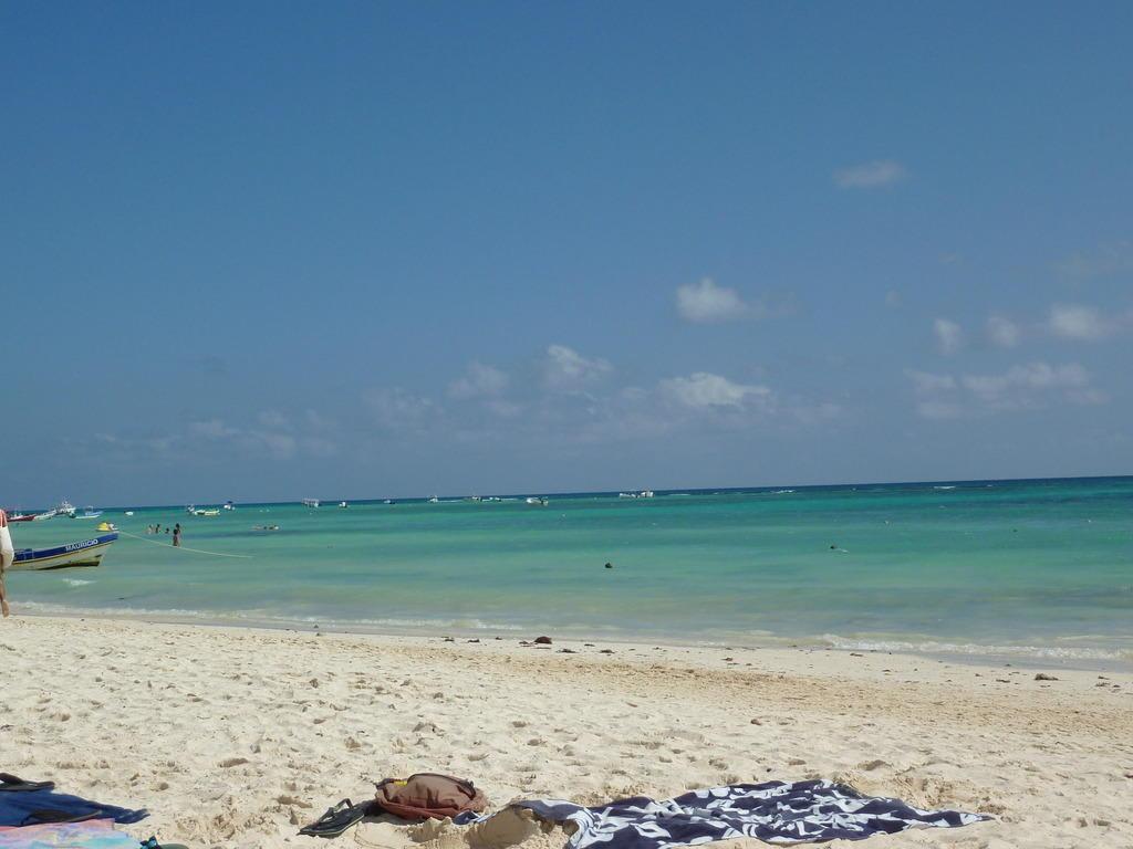 bild sonne strand und meer zu mahekal beach resort in playa del carmen playacar. Black Bedroom Furniture Sets. Home Design Ideas