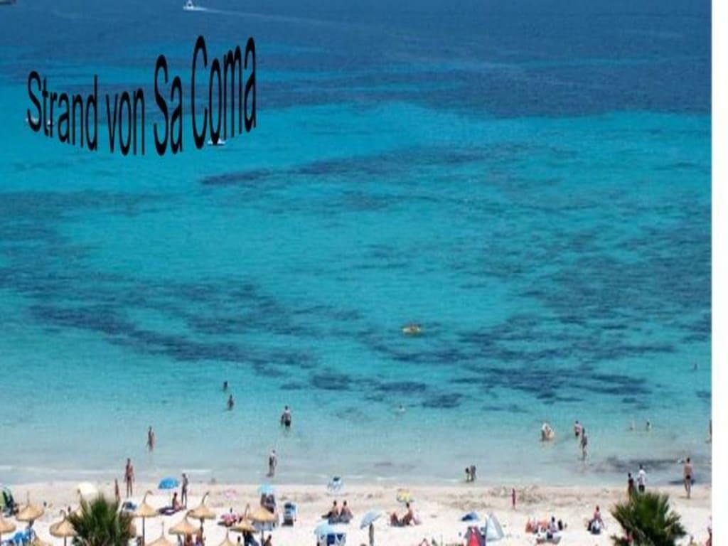 """Bien-aimé Bild """"Mallorca Sa Coma"""" zu Strand Sa Coma in Sa Coma QM81"""