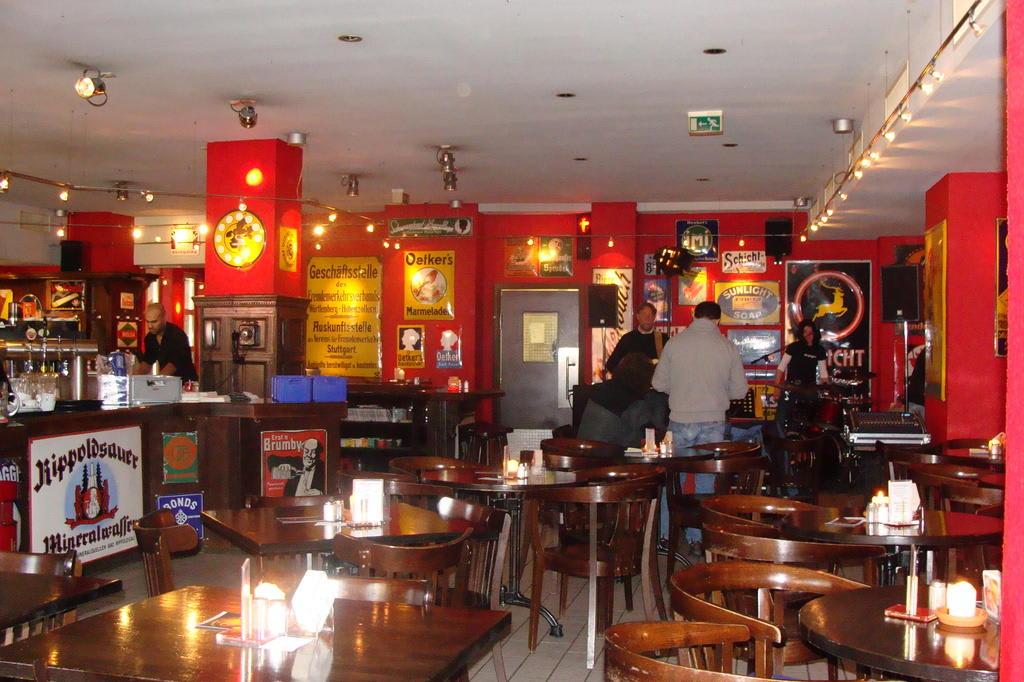 Bild Cafe Emaille Zu Karlsruhe In Karlsruhe