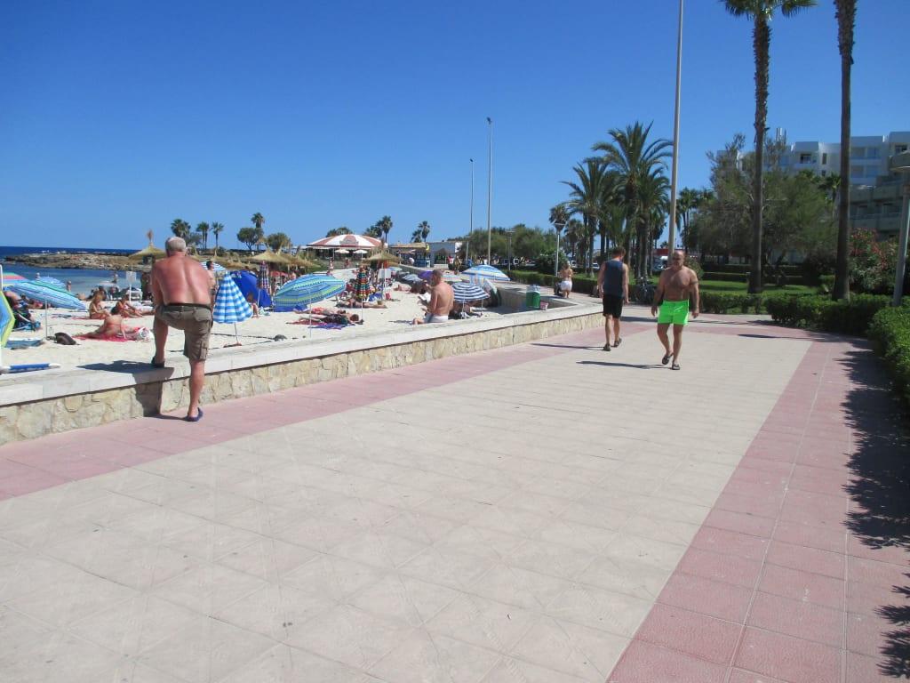 Bild Quot Promenade Quot Zu Strandpromenade Sa Coma In Sa Coma
