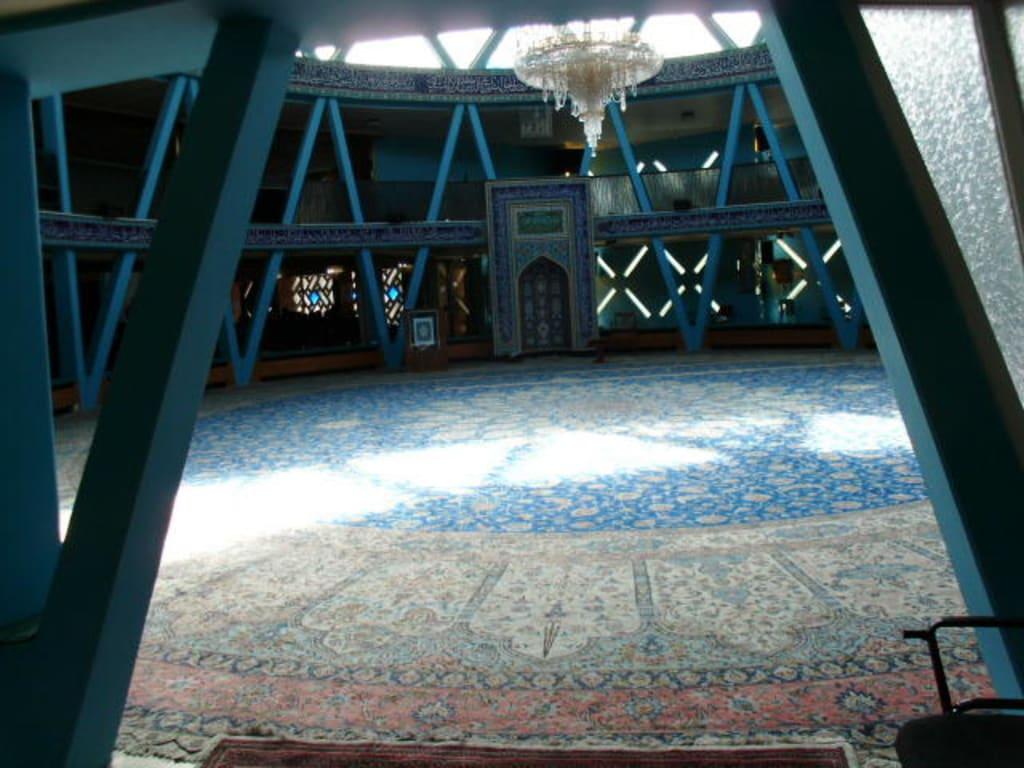 Bild 200 m² Teppich zu Imam Ali Moschee in Hamburg