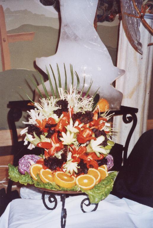 Bild essen dekoration 2 zu t rkiz beldibi resort spa for Dekoration essen