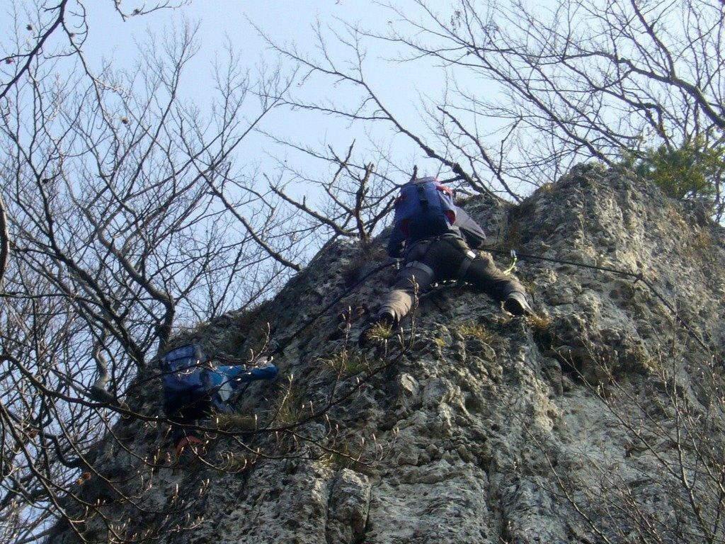 Klettersteig Höhenglücksteig : Klettern abseilen klettersteig