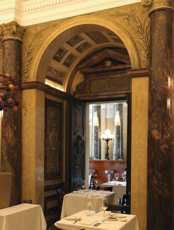 Bild Detail Marmorsaal Im Vestibül Zu Restaurant Vestibül Wien In Wien