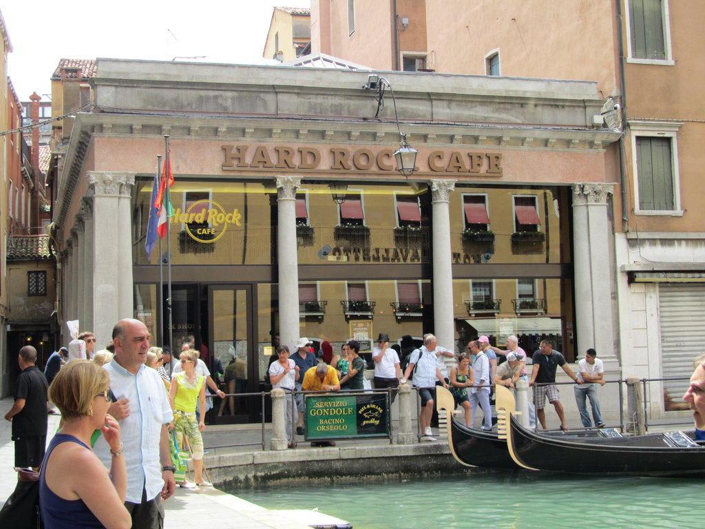 Hard Rock Cafe Venedig Shop