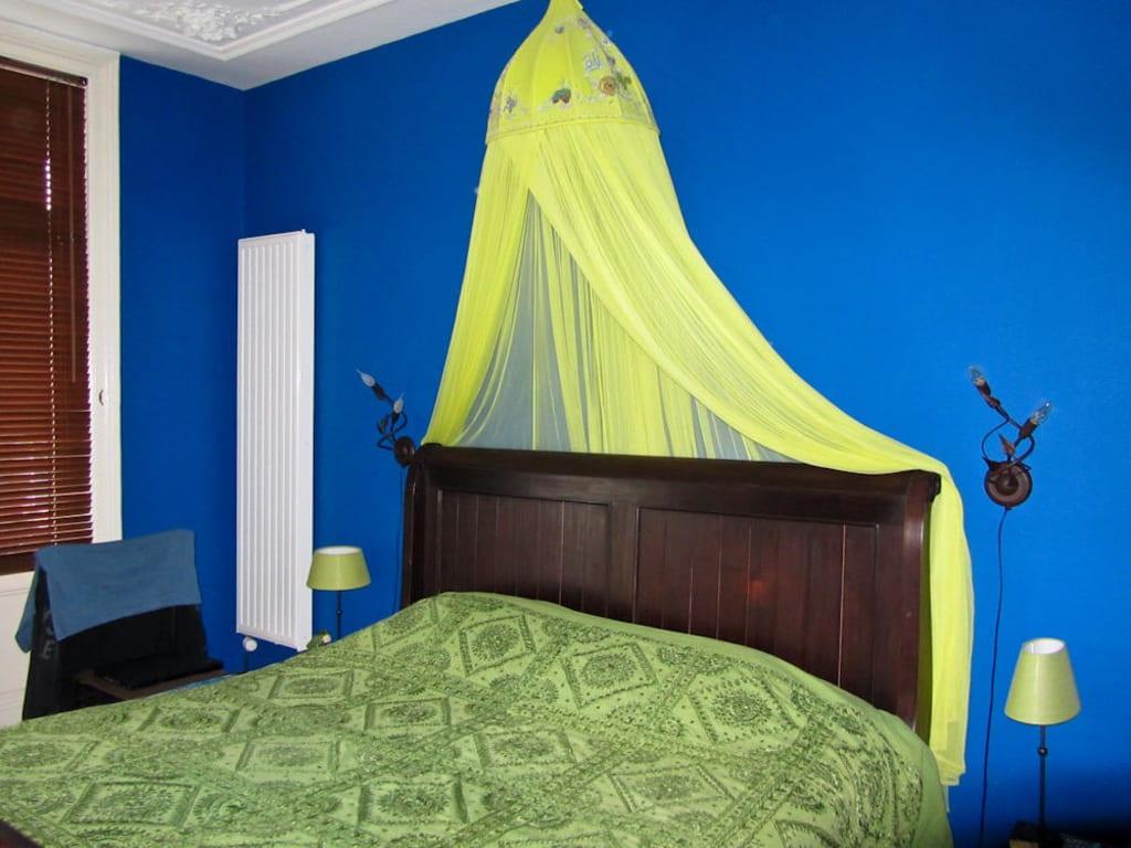 bild marokkanisches zimmer zu hotel cherrycake chocolate in rotterdam. Black Bedroom Furniture Sets. Home Design Ideas