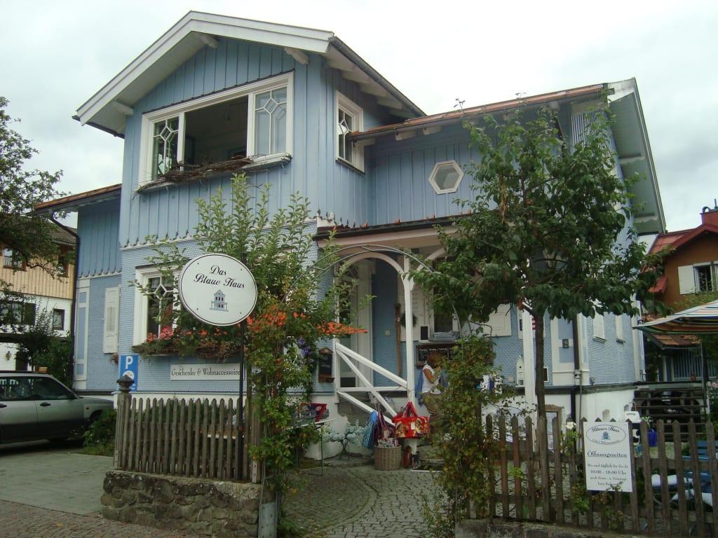 Bilder Das Cafe Blaues Haus In Oberstaufen