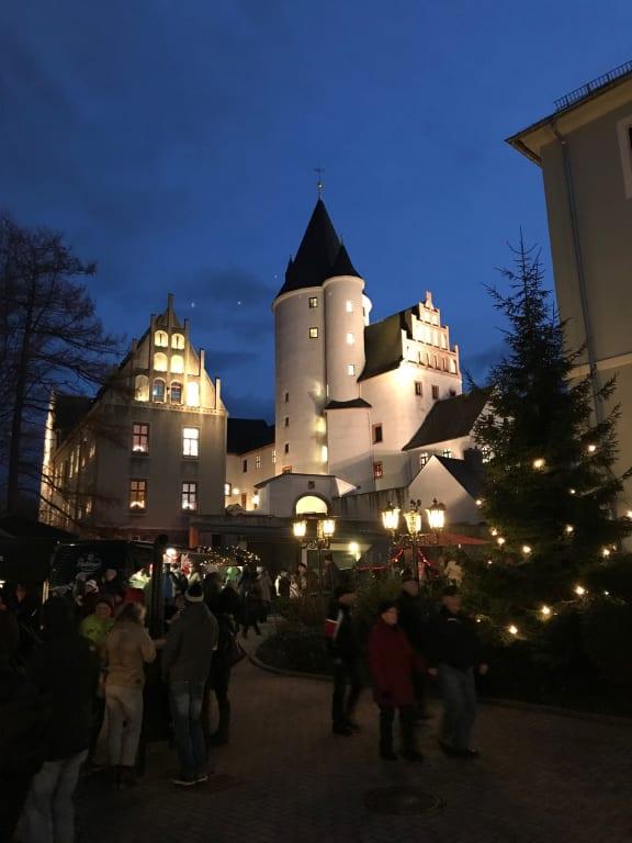 Weihnachtsmarkt Schwarzenberg.Bild Schwarzenberg Weihnachtsmarkt Zu Marktplatz Schwarzenberg In