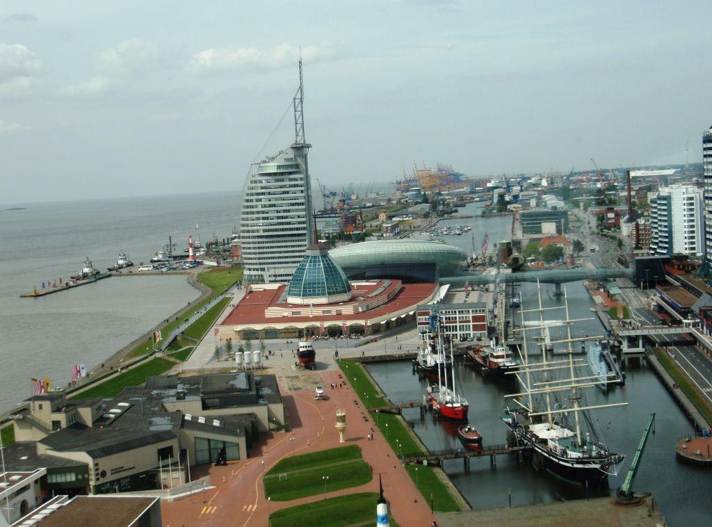 Bild Quot Hafenwelten Quot Zu Atlantic Hotel Sail City In Bremerhaven