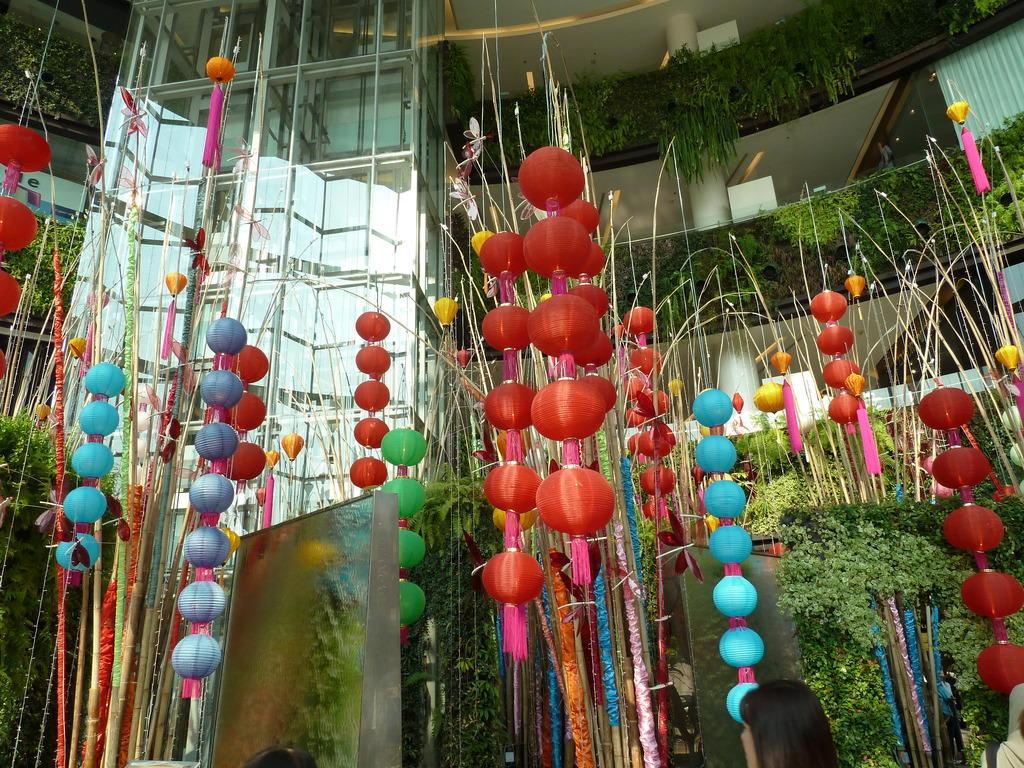Bild Dekoration Zum Chin Neujahr Zu Siam Paragon In Bangkok