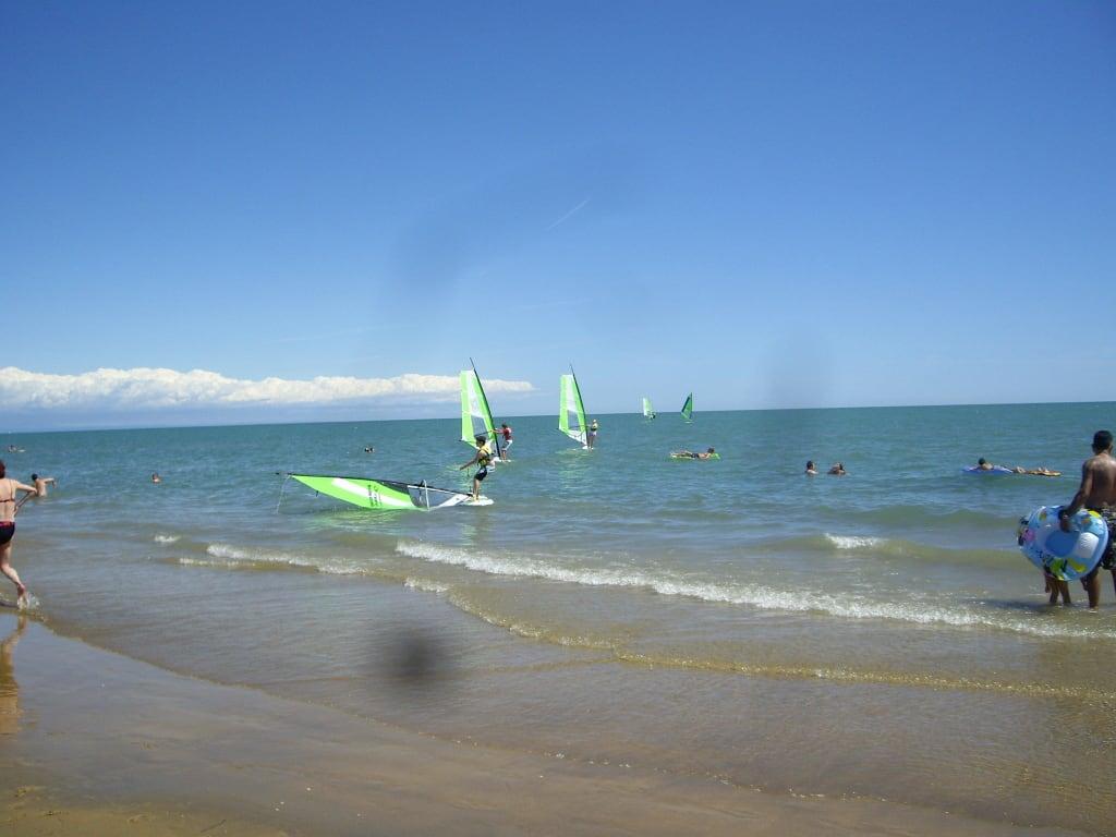 Bild Am Meer Zu Strand Bibione In Bibione