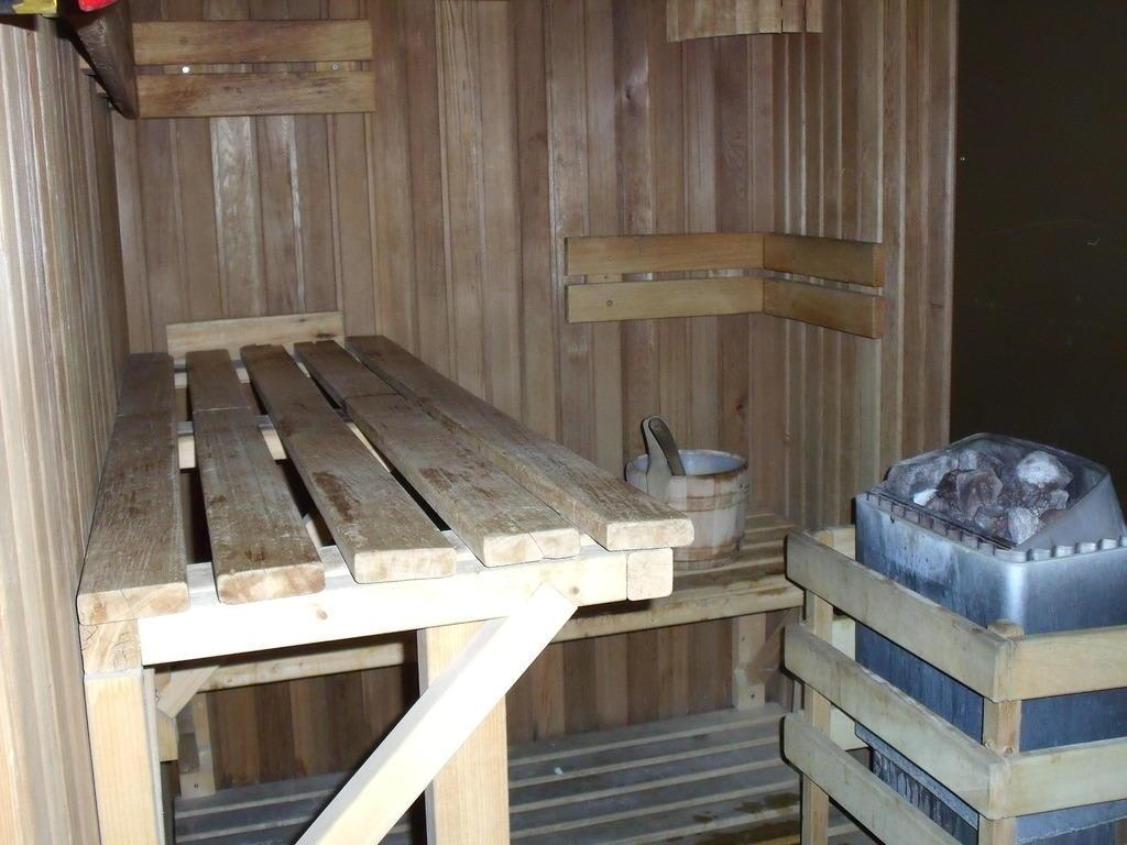 bild mini sauna f r max 2 personen zu hotel radisson blu amsterdam in amsterdam. Black Bedroom Furniture Sets. Home Design Ideas