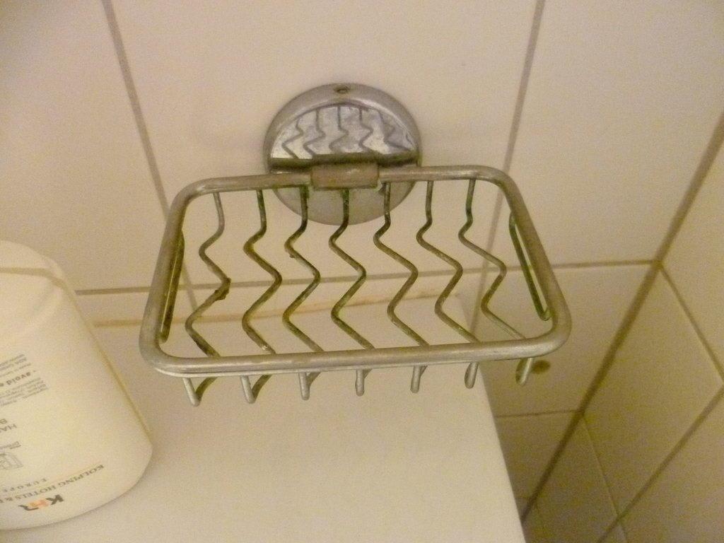 Bild Seifenablage Waschbecken total verschmutzt zu Hotel  ~ Waschbecken Wien
