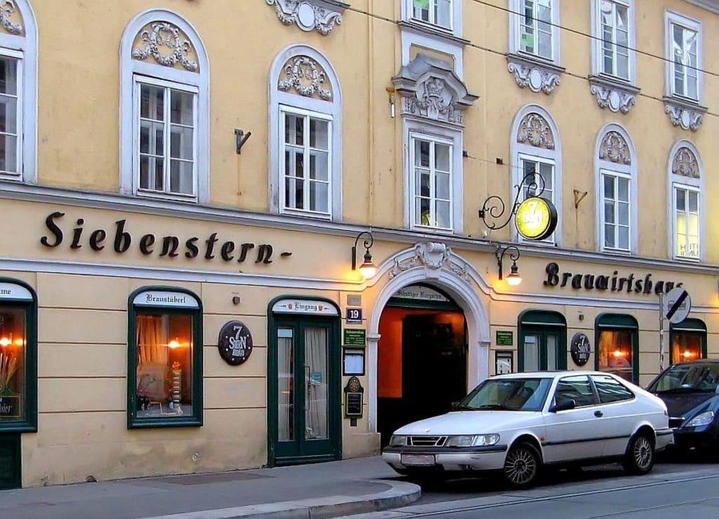 Bilder Wien 7bezirk Siebenstern Brauwirtshaus Reisetipps