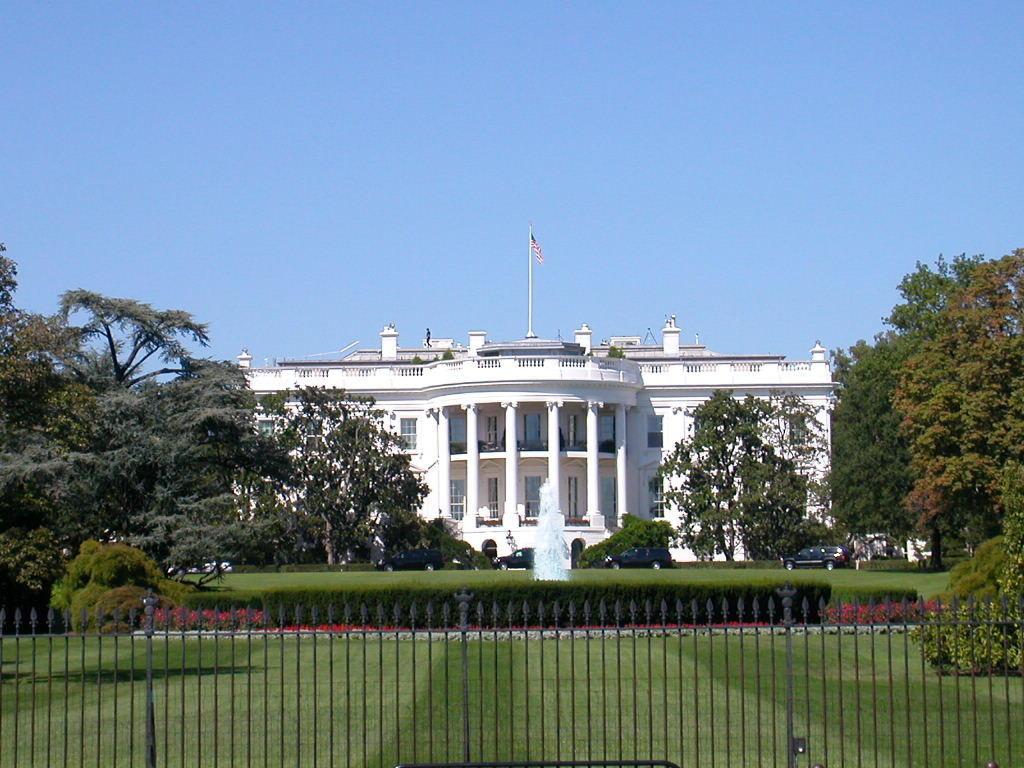 bild s dseite zu wei es haus white house in washington d c. Black Bedroom Furniture Sets. Home Design Ideas