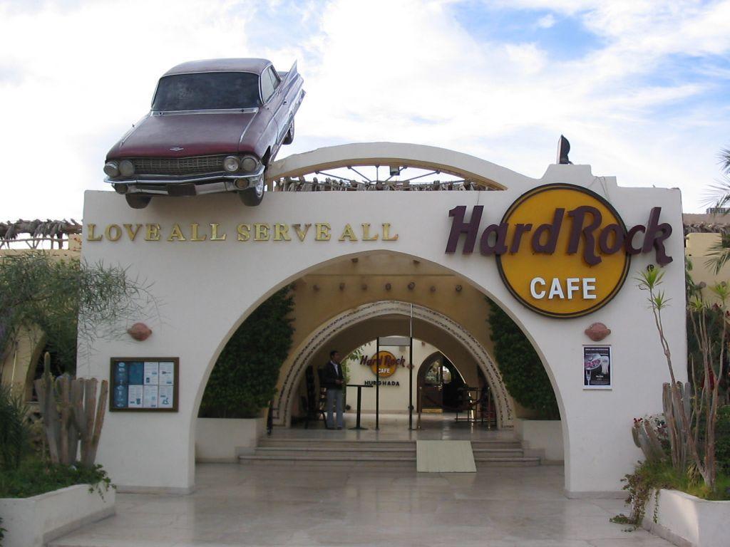 """Bild """"Hard Rock Cafe von Außen"""" zu Hard Rock Cafe in Hurghada"""