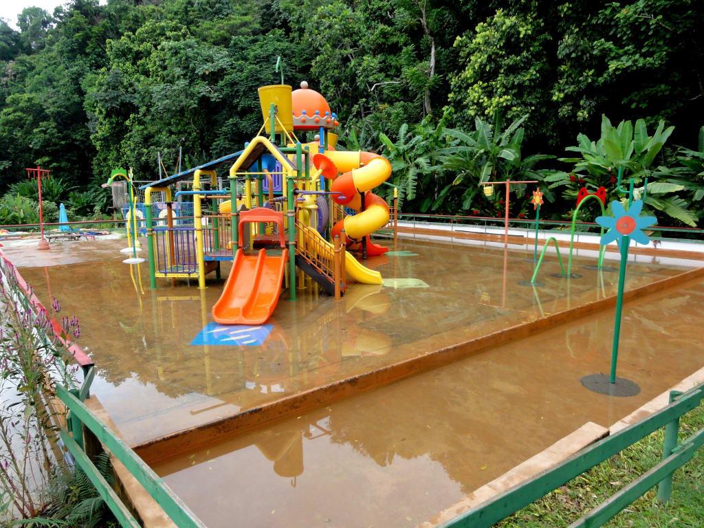Bild Wasserspielplatz Für Kids Zu Botanischer Garten Les Jardin De