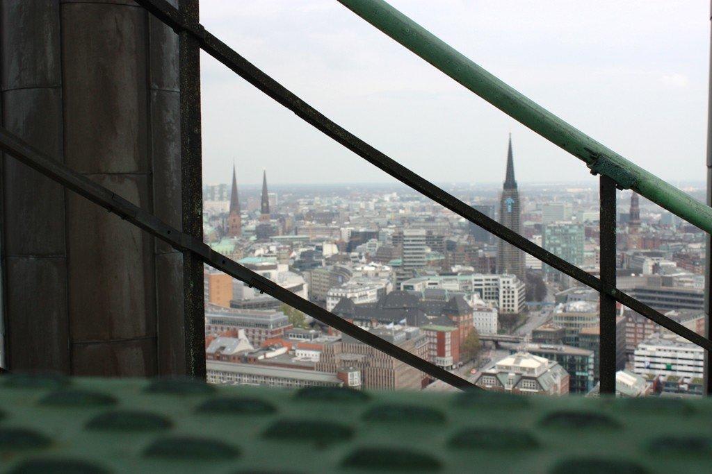 Treppe Hamburg bild aussicht treppe zu st michaelis michel in hamburg
