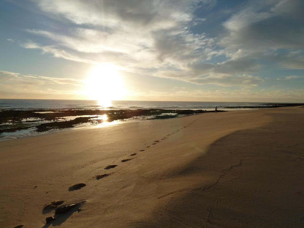 Bild spuren im sand zu hotel riu oliva beach village for Riu oliva beach village