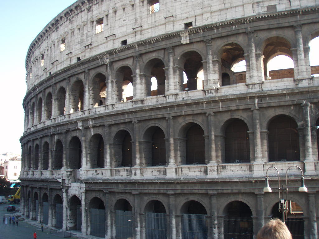 Bild Coliseo Romano Zu Kolosseum In Rom