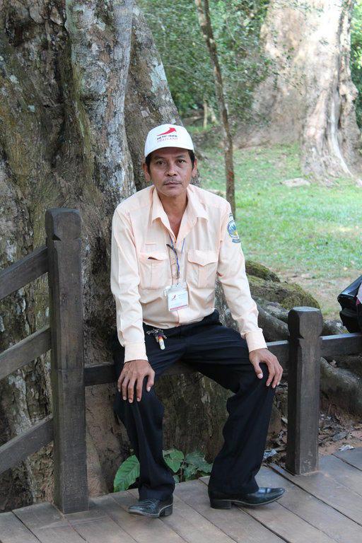 Tourguide Mr. Meas Chandeth Bilder Sonstige Personen Guide Meas Chandeth