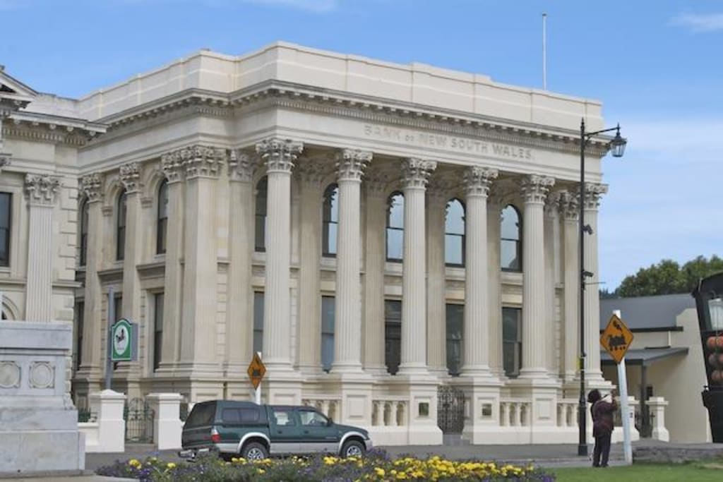 Bankgebäude Bilder Sonstige Gebäude Historic District