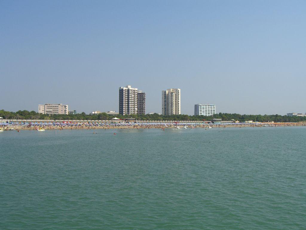 Bild Am Strand Von Lignano Zu Strand Lignano In Lignano