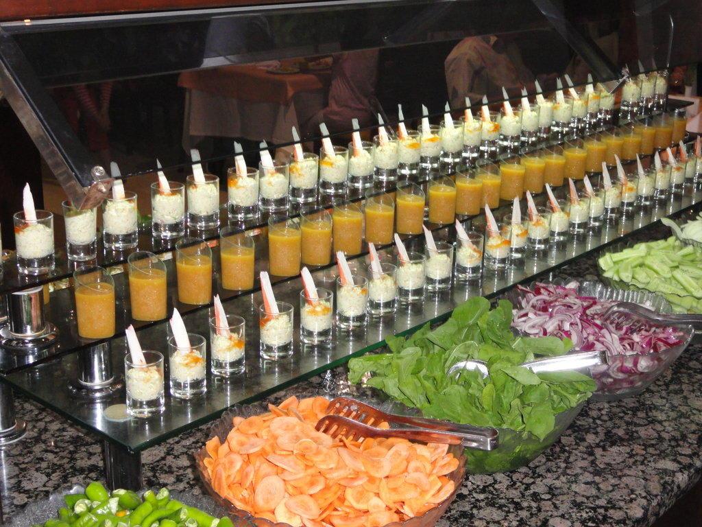 Gemutlich In Englisch : Amuse gueule Buffet Bilder Restaurant & Büffet Hotel Sherwood Breezes