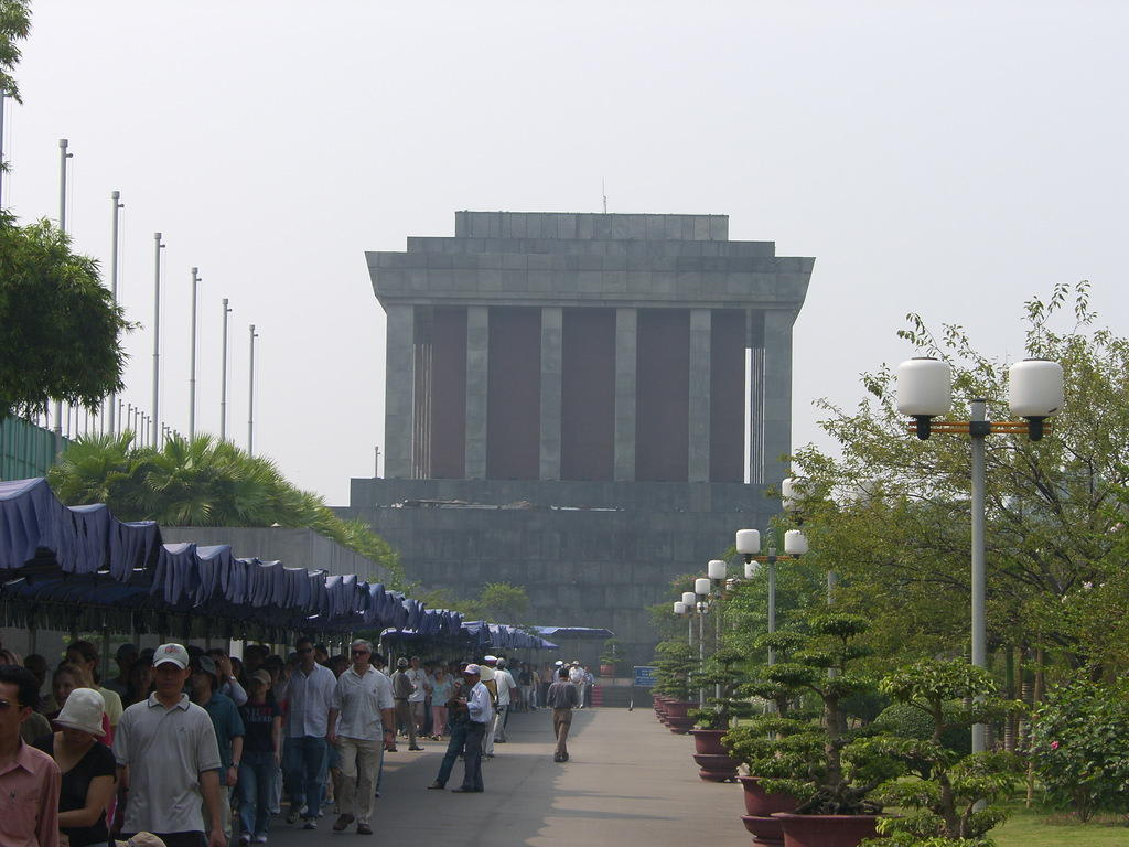 Mausoleum Ho Chi Minh - Ho Chi Minh-Mausoleum