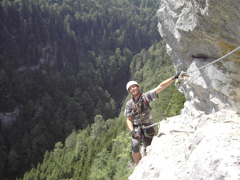 Klettersteig Postalm : Postalm klettersteig youtube