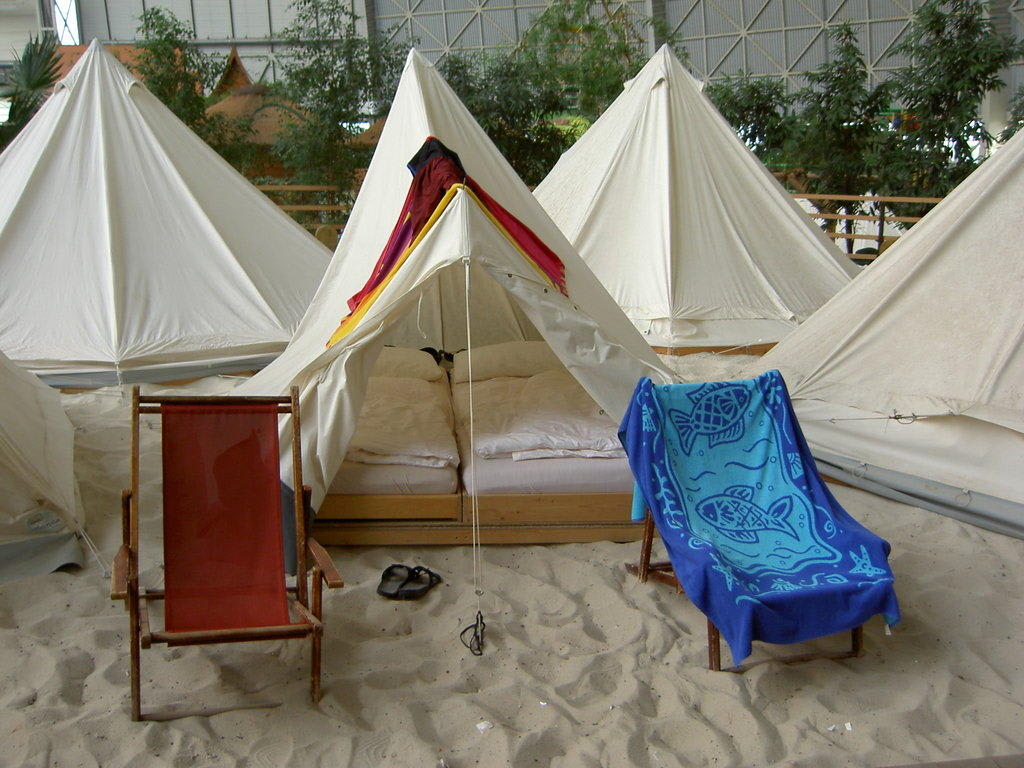 Tropical Island Zelt 4 Personen : Bild quot das war unser gemütliches zelt zu tropical islands