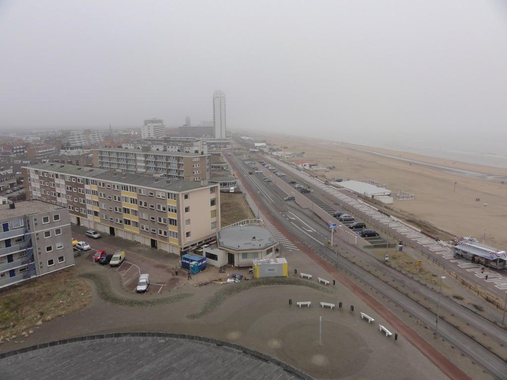 Bild ausblick vom zimmer leider nebel zu center parcs for Zimmer zandvoort
