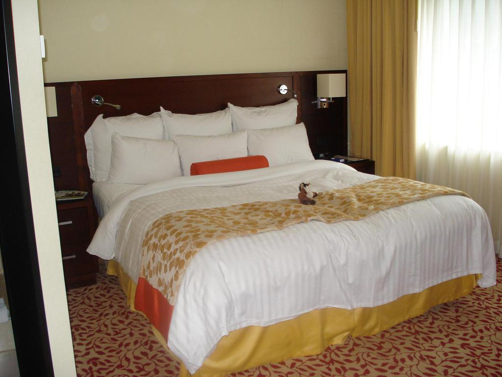 bild kingsize bett zu hotel marriott k ln in k ln. Black Bedroom Furniture Sets. Home Design Ideas